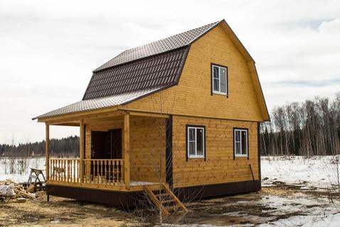 Брусовой дом под прописку в деревне Финеево - Фото 1