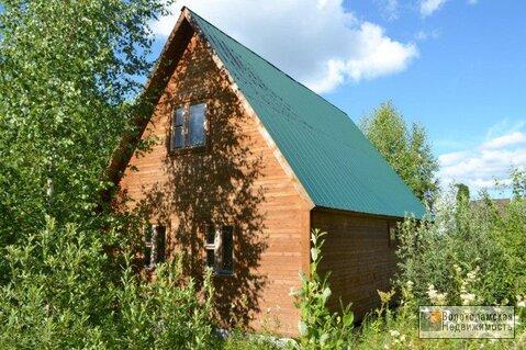 Дача (дом+баня) на участке 12сот в деревне Посаденки Волоколамский р-н - Фото 1
