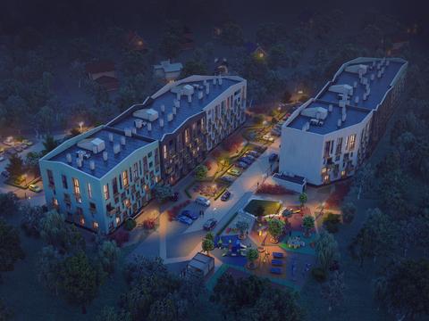 Квартира с антресольным этажом и видом на берёзовую рощу - Фото 3