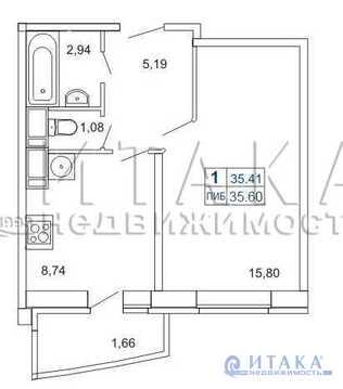 Продажа квартиры, м. Лесная, Кушелевская дор - Фото 1