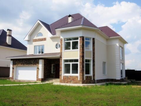 Кирпичный дом 370 м2 11 сот 27 км Киевское/Калужское шоссе - Фото 1