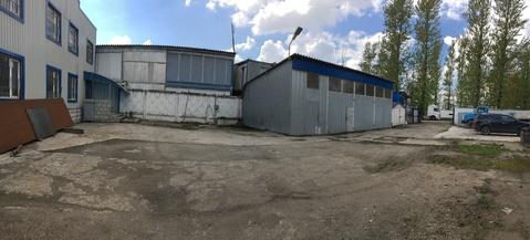 Земельный участок промназначения 1140 кв.м.+ офис и ангары - Фото 1