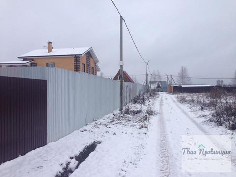 Участок 12,5 соток в деревне Беляево Чеховский район - Фото 1