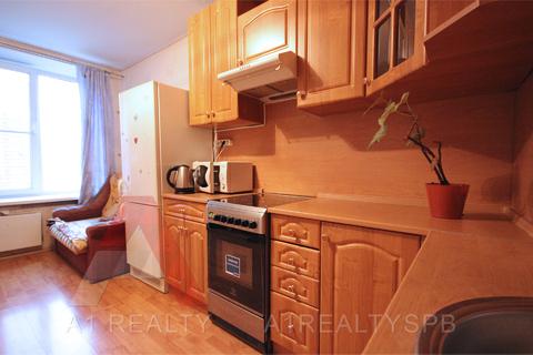 Пп однокомнатная квартира 46 кв.м. в кирпичном доме 5мин метро купчино - Фото 1