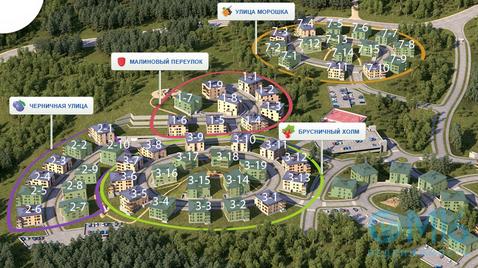 Продажа 1-комнатной квартиры во Всеволожском районе, 34.5 м2 - Фото 3
