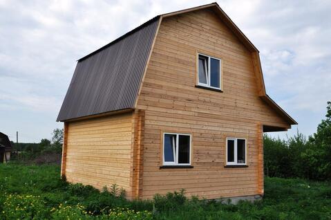 Новый дом 6*8 на участке 8 сот. в стародачном месте. г.Киржач. - Фото 4