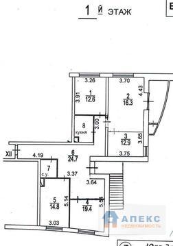 Аренда помещения свободного назначения (псн) пл. 112 м2 под офис, . - Фото 3