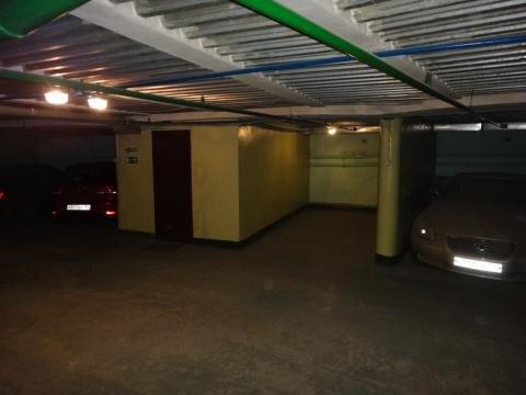 Машиноместо в подземном паркинге, Королев, Калинина, 6б, первый уровен - Фото 2