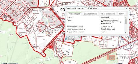 Земельный участок 50 соток, в шести километрах от МКАД по Киевскому ш. - Фото 4