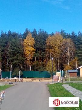 Прилесной участок 12 соток в Москве, ИЖС, 32 км по Калужскому шоссе - Фото 1