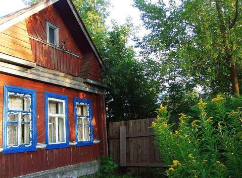 Бревенчатый дом на реке Нерль в селе Кибергино - Фото 1