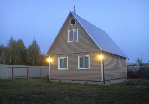 Продается 2х этажная дача 85 кв.м. на участке 6 соток д.Большие горки - Фото 1