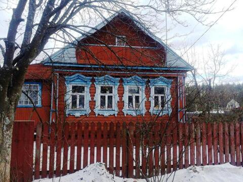 Бревенчатый дом в деревне Киржачского района - Фото 1
