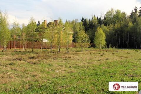 Прилесной участок 20 соток в охраняемом поселке, 27 км по Калужскому ш - Фото 3