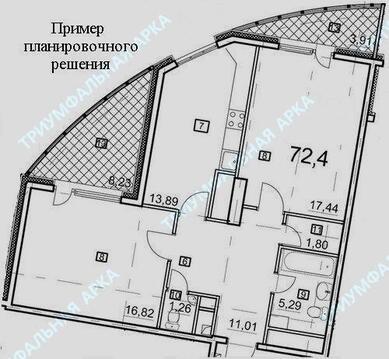 Продажа квартиры, 60-летия Октября пр-кт. - Фото 3