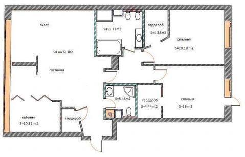 4-х-комнатная квартира - Фото 2