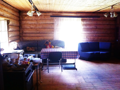 Бревенчатый дом 80 кв.м. 10 соток у леса. Газ по границе. 50 км. МКАД. - Фото 5