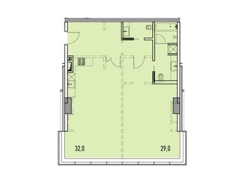 """Продается 2-к. квартира, 84,6 кв.м. в ЖК """"Фили парк"""" - Фото 1"""