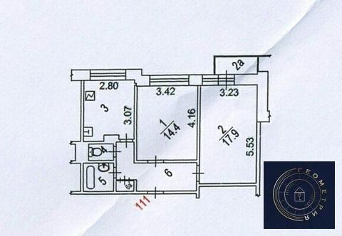2к м Беляево, Миклухо-Маклая 18/1 (ном. объекта: 24083) - Фото 1