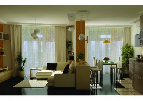 1-комн. квартира в Сочи в спальном районе (новостройка) - Фото 1