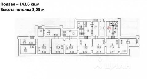 Аренда офис г. Москва, м. Ленинский Проспект, пр-кт. Ленинский, 52 - Фото 1