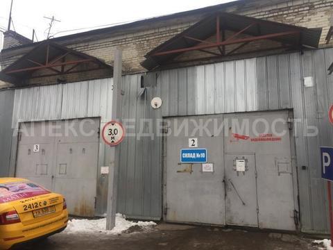 Аренда склада пл. 360 м2 м. Марьина роща в складском комплексе в . - Фото 3