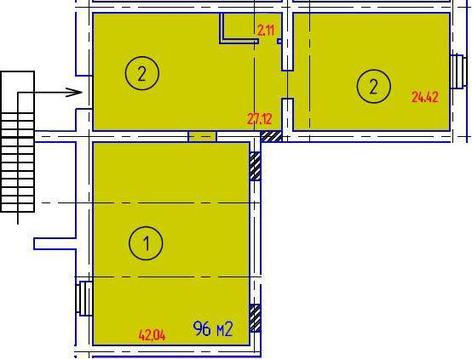 Продается псн 96 кв.м, Городец,, Продажа помещений свободного назначения в Городце, ID объекта - 900210892 - Фото 1