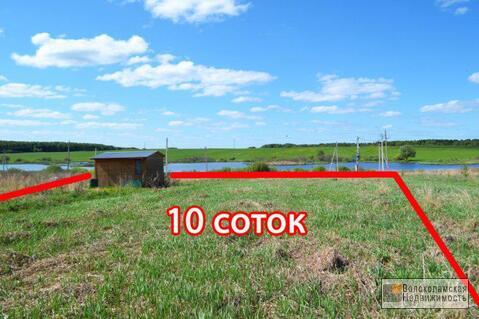 Участок 10 соток на берегу плотины (первая линия от воды) - Фото 1