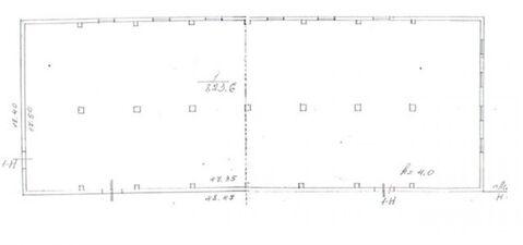 Сдам складское помещение 823 кв.м, м. Проспект Ветеранов - Фото 3