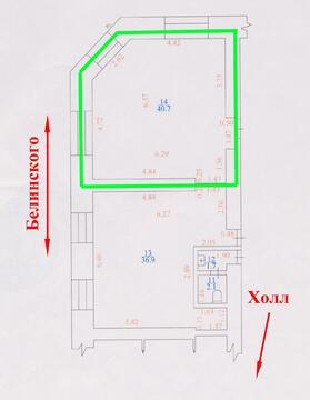 Офисное помещение, Екатеринбург, центр. район, ул. Белинского, 83 - Фото 5