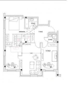 8 403 037 руб., Продажа квартиры, Купить квартиру Рига, Латвия по недорогой цене, ID объекта - 313136551 - Фото 1