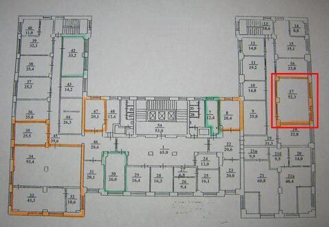 Офисное помещение, 52 м2 - Фото 3
