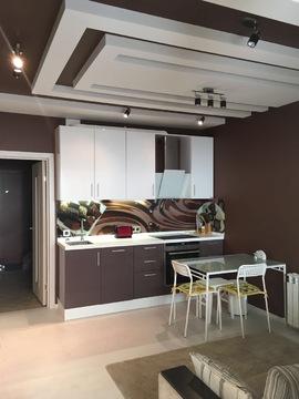 Сдается новая квартира-студия г.Железнодорожный, мкр.Павлино, д.69 - Фото 3