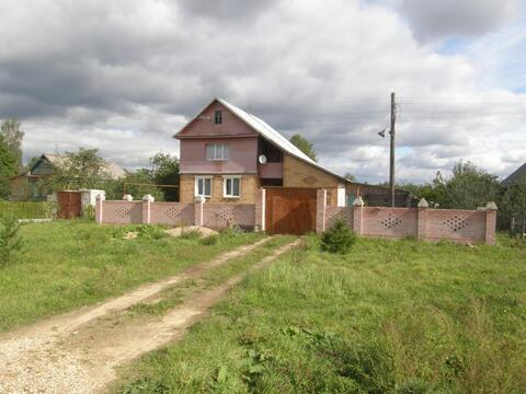 Дом во Владимирской области, деревня Зеленцино Александровского района - Фото 1