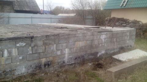 Участок с баней, гаражом и фундаментом - Фото 3