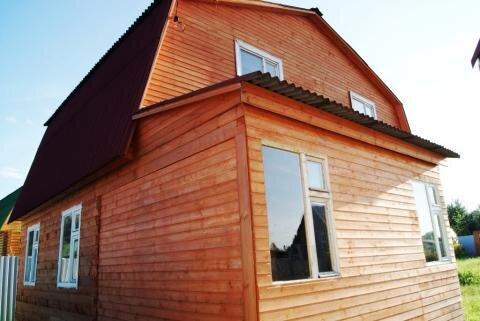 Дом 110кв.м.на 8сотках 89км Щелковское шоссе - Фото 1