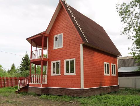 Дом 130 м2 в Лесу, Хозблок, 75 км по Ярославскому ш. - Фото 1