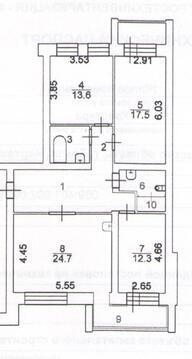 Продам 4-комнатную элитную квартиру - Фото 1
