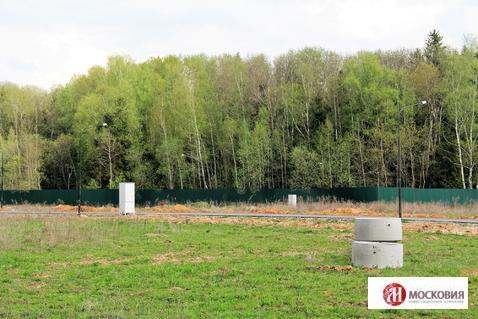 Участок 10 соток в поселке, окруженном лесом, 38 км по Киевскому ш. - Фото 2