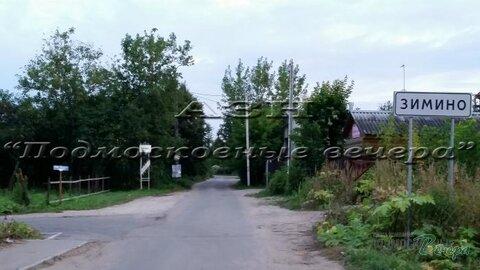 Осташковское ш. 11 км от МКАД, Зимино, Участок 12 сот. - Фото 1
