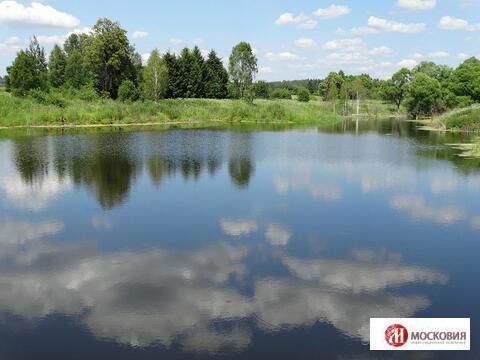 Участок 15 соток у озера в охраняемом поселке, 38 от МКАД по Киевскому - Фото 1