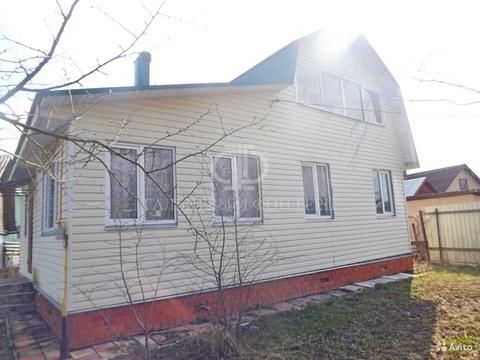 Дом 72 кв.м. г.о. Домодедово, Барыбино на 5 сотках - Фото 1