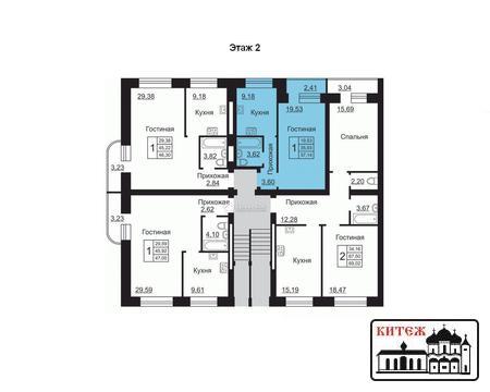 Продам двухкомнатную квартиру в новом кирпичном доме, дом сдан! - Фото 3