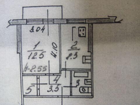Продам хорошую 1-комнатную квартиру по адресу: ул. Строителей 7 к 2, . - Фото 5
