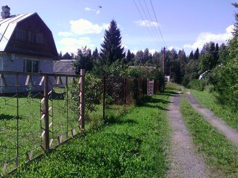 """Продам участок в уютном сад-ве """"Связист"""", пос.Шапки - Фото 1"""