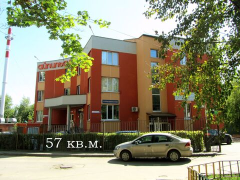 57 м2 +балкон 10 м2 Аренда офиса в БЦ + юридический адрес - Фото 1