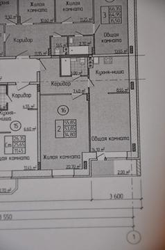 Продам 2-комн. квартиру 56.4 м2 - Фото 3