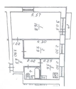 Продажа 2-комнатной квартиры Рязанский проспект, 54 - Фото 2