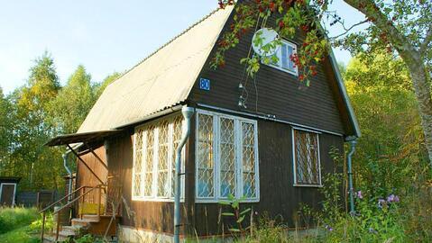 Дача 63 кв.м. на участке 12 соток в СНТ Марково на опушке леса. - Фото 1