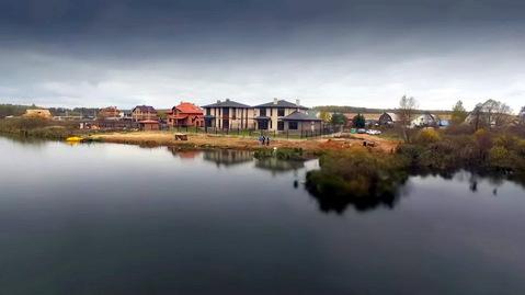 Новый коттедж под ключ на береговой линии озера. Новая Москва. - Фото 1